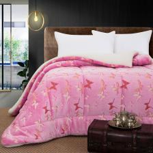 Κουβερτοπάπλωμα μονό φωσφοριζέ Art 6157 160x220 Ροζ Beauty Home