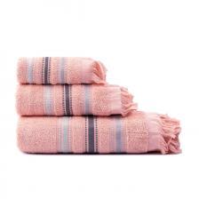 Σετ πετσέτες Art 3257 Σετ 3τμχ Ροζ Beauty Home